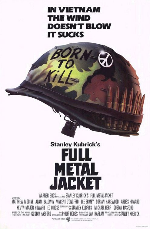 Affiche Full Metal Jacket