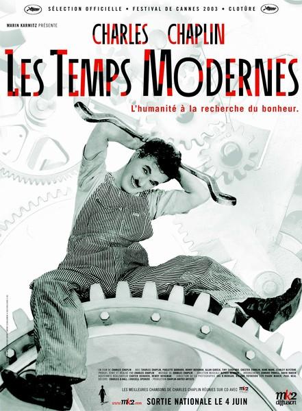 Affiche Les Temps Modernes