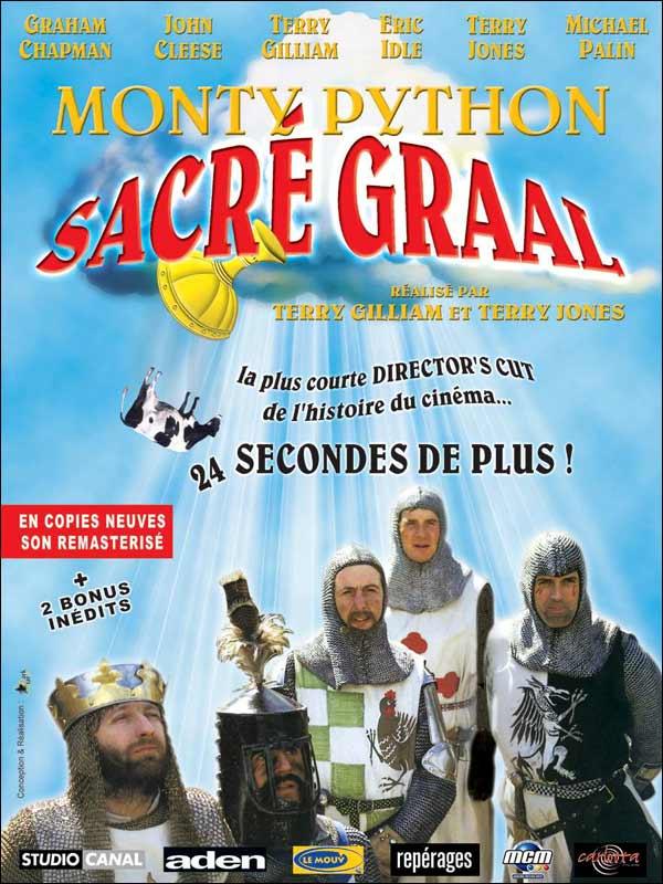 Affiche Monty Python, Sacré Graal
