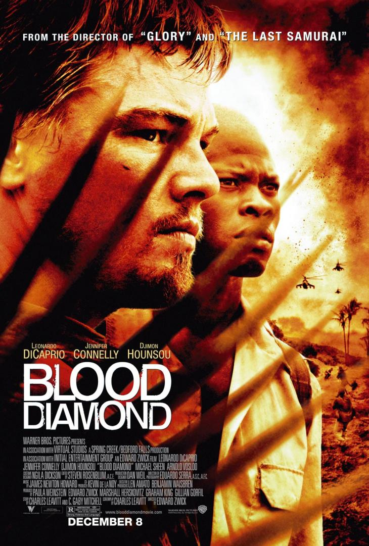 Affiche Blood Diamonds