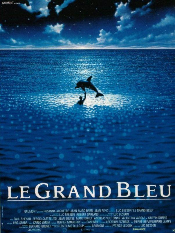 Affiche Le Grand Bleu