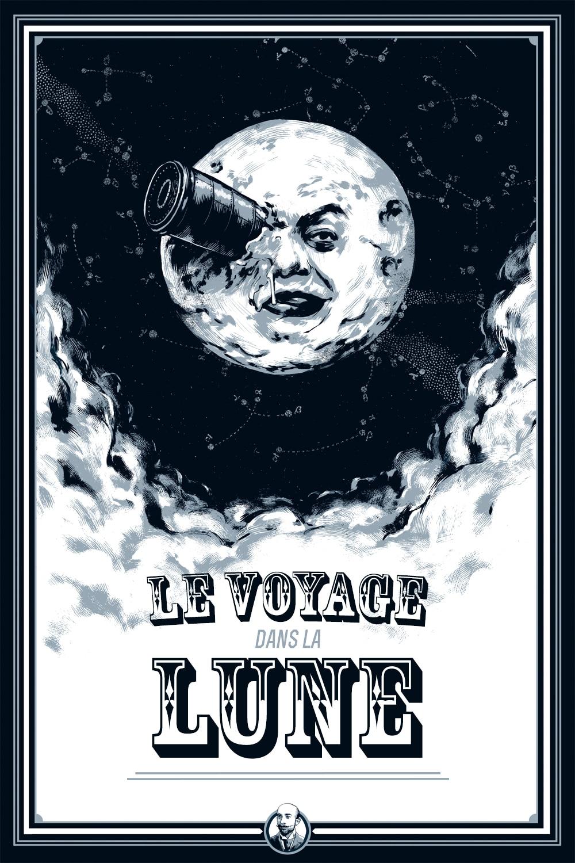 Affiche Le Voyage dans la Lune