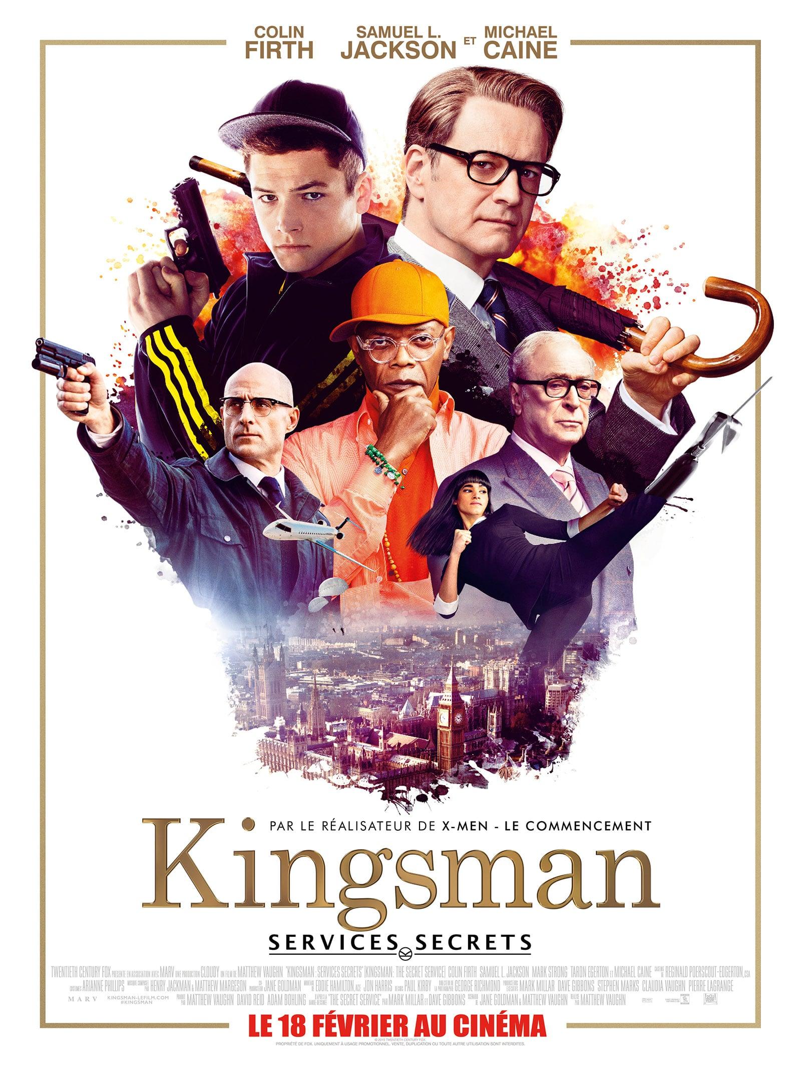 Affiche Kingsman Services Secrets