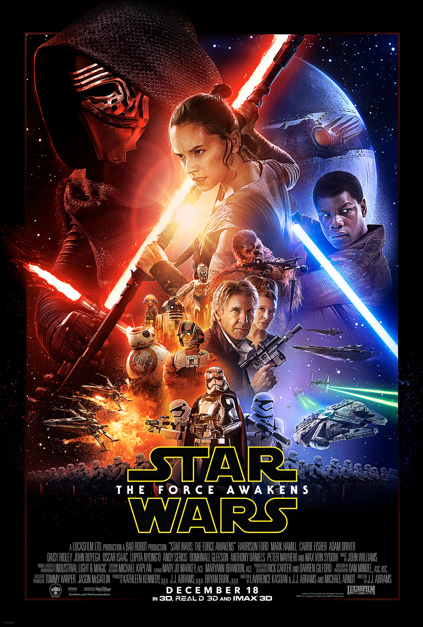Affiche Star Wars – Episode VII : Le Réveil de la Force