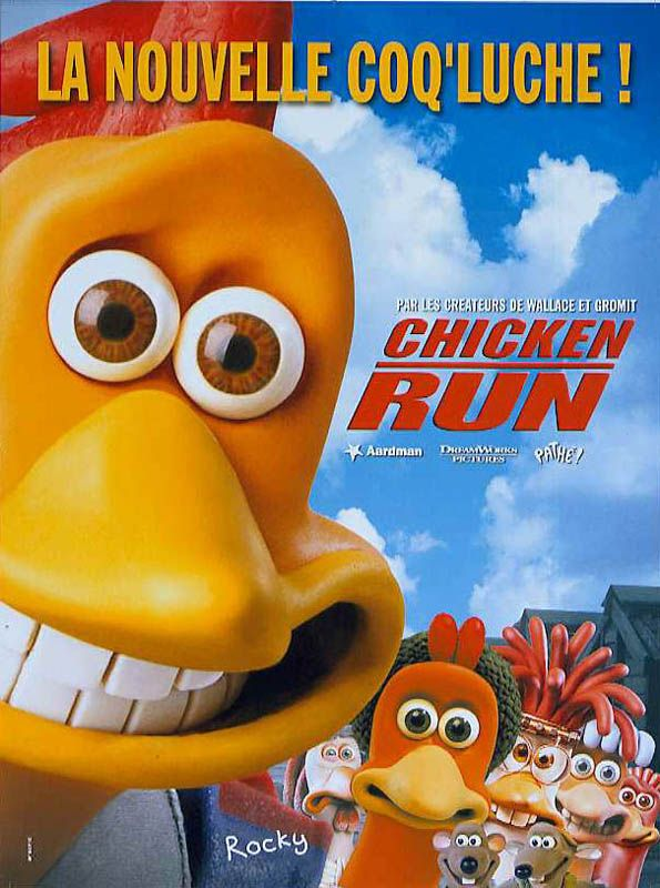 Affiche Chicken Run