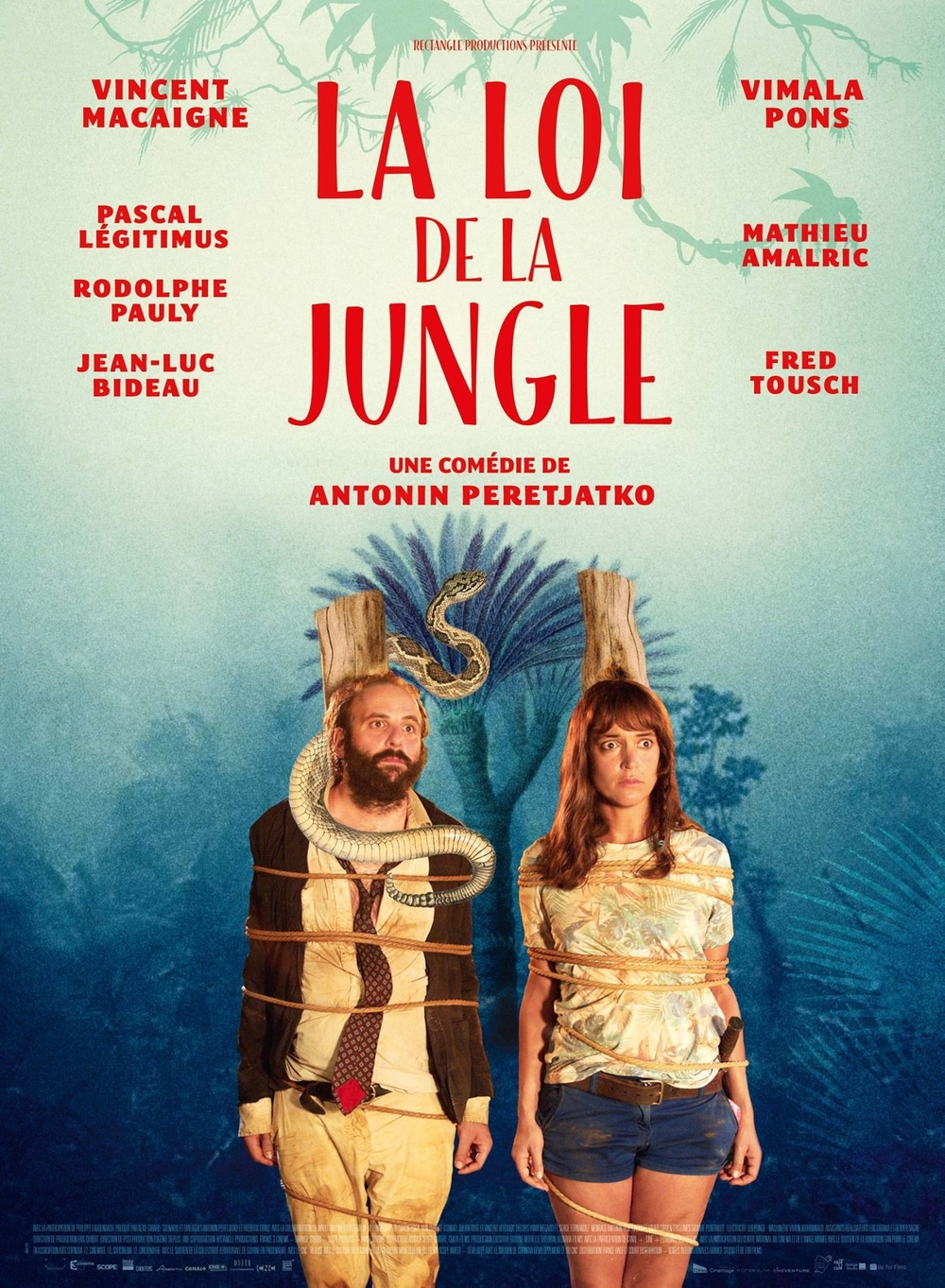 Affiche La Loi de la Jungle