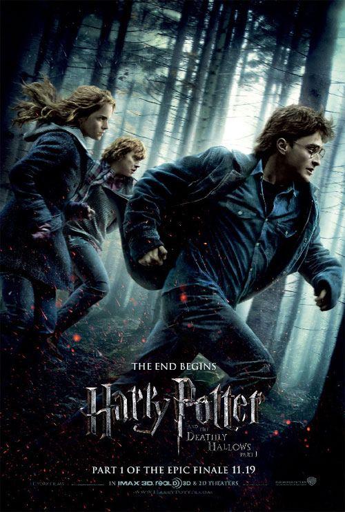 Affiche Harry Potter et les Reliques de la Mort – Partie 1