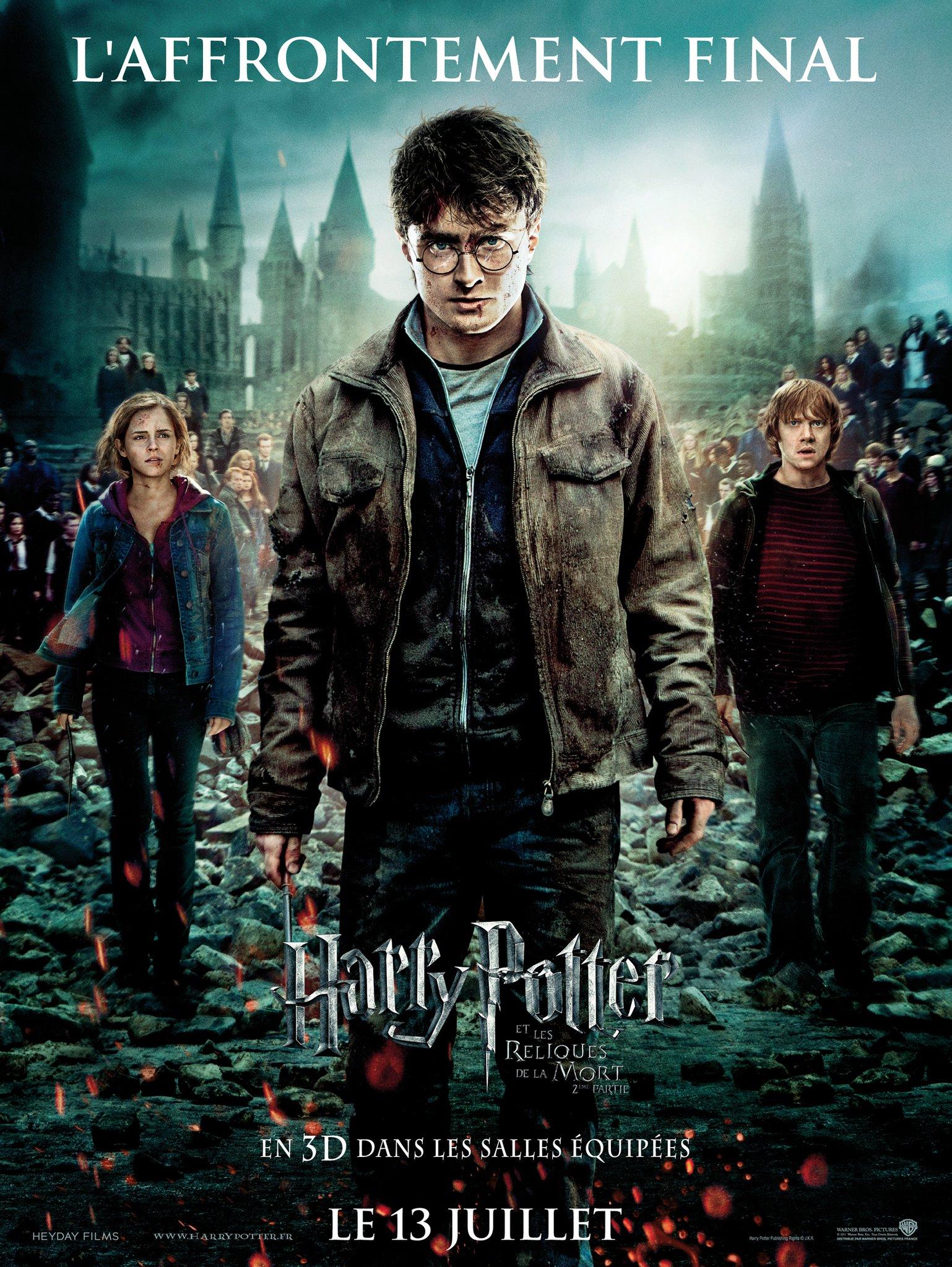Affiche Harry Potter et les Reliques de la Mort – Partie 2