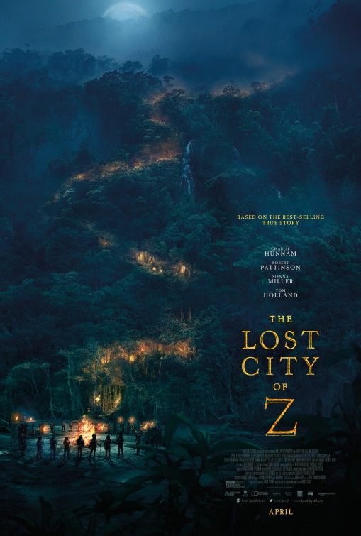 Affiche The Lost City of Z