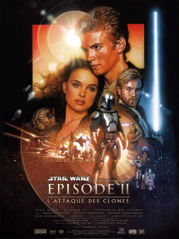 Affiche Star Wars – Episode II : L'Attaque des Clones