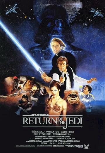 Affiche Star Wars – Episode VI : Le Retour du Jedi