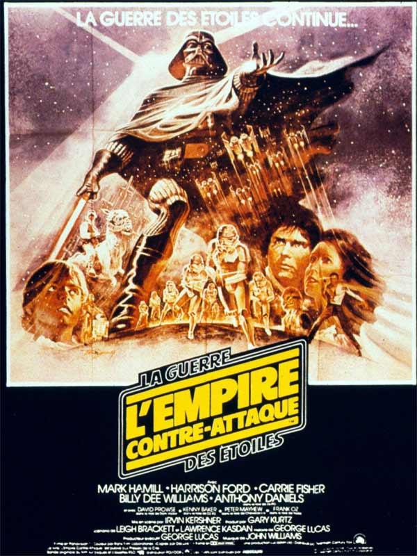 Affiche Star Wars – Episode V : L'Empire contre-attaque