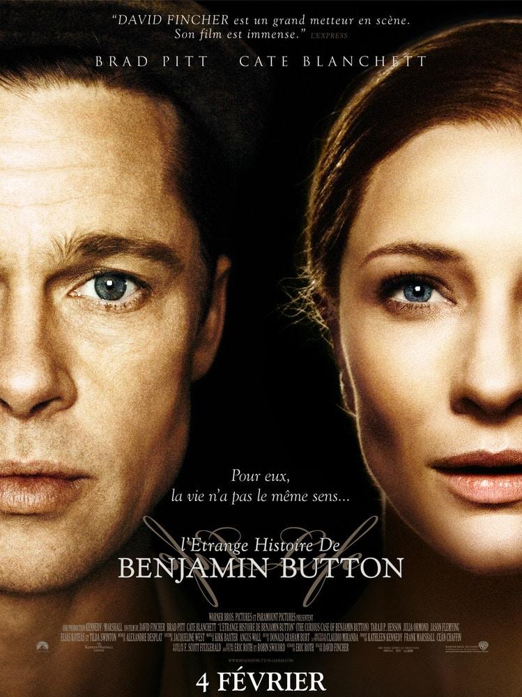 Affiche L'Etrange Histoire de Benjamin Button
