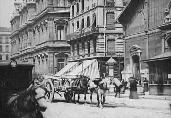 Affiche La Place des Cordeliers à Lyon