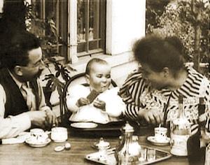 Affiche Le Repas de Bébé