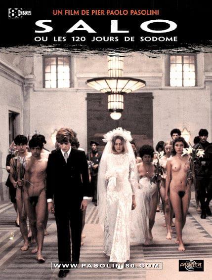 Affiche Salò ou les 120 Journées de Sodome