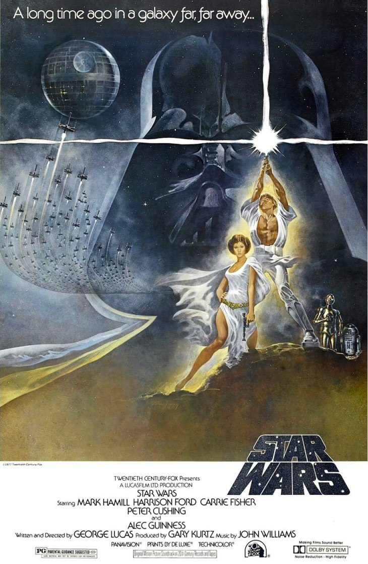 Affiche Star Wars – Episode IV : Un Nouvel Espoir