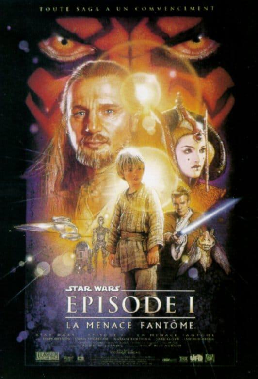 Affiche Star Wars – Episode I : La Menace Fantôme
