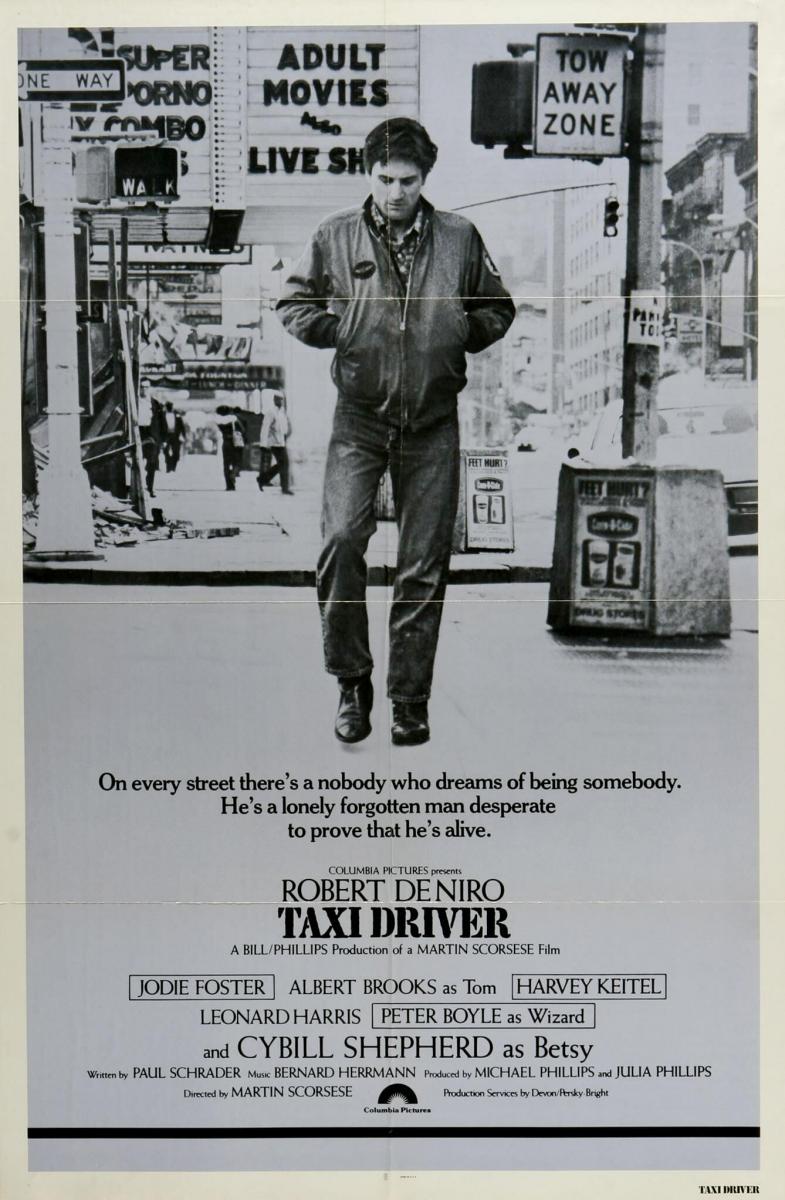 Affiche Taxi Driver